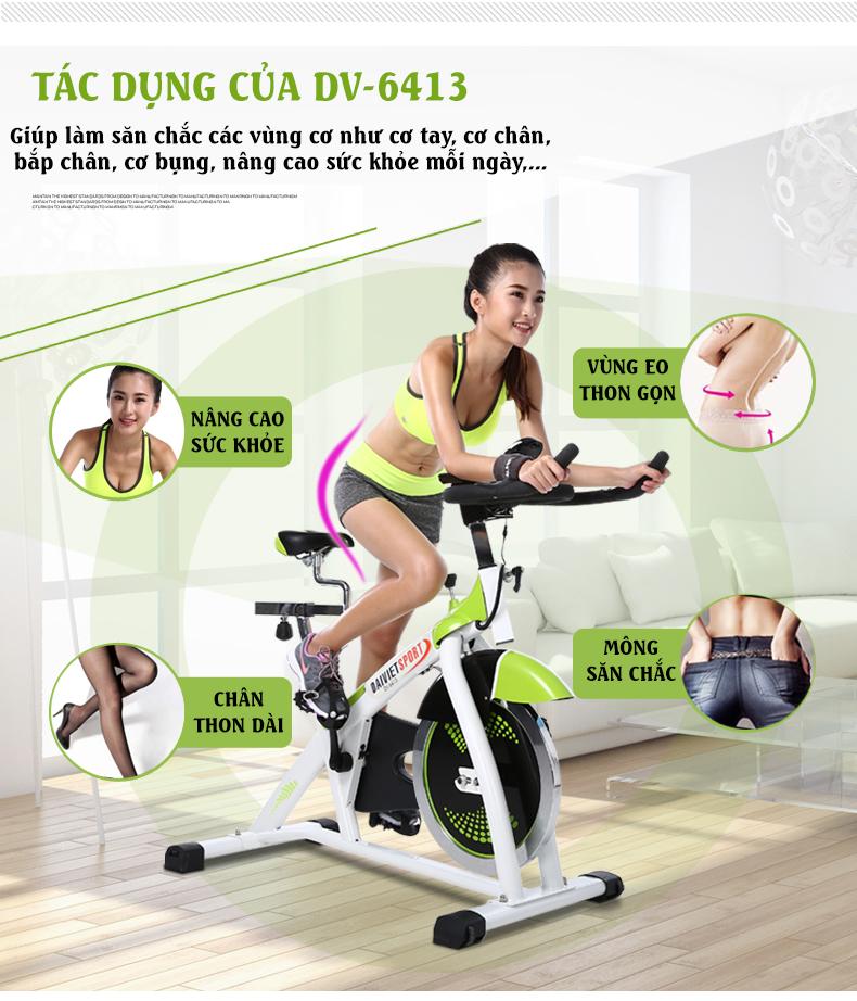 Lợi ích Xe đạp tập ĐẠI Việt DV-6413