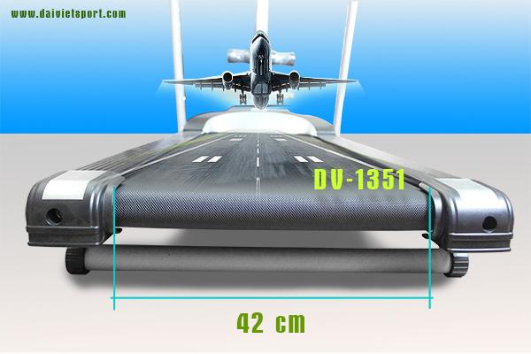 Máy chạy bộ điện đa năng Đại Việt DV-1351
