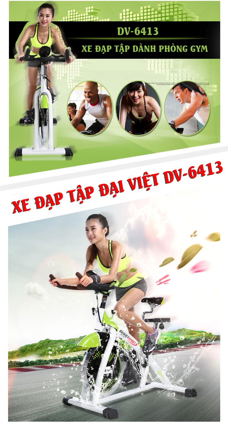 Xe đạp tập thể dục DV-6413