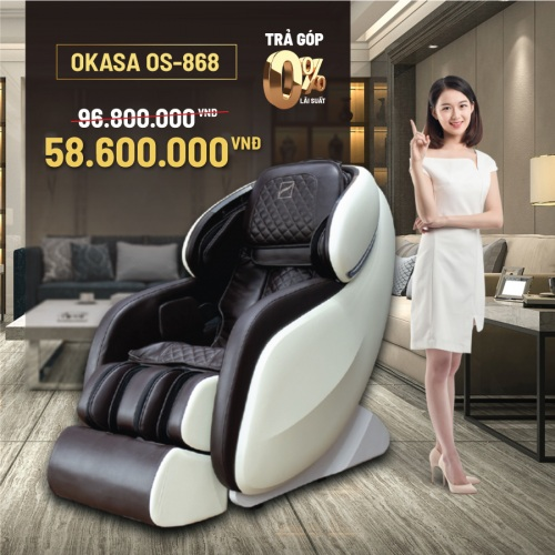 Ghế massage Okasa OS-868