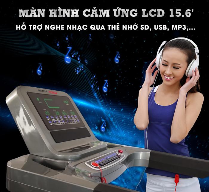 bảng điều khiển Máy chạy bộ Đạ Việt DV-5919