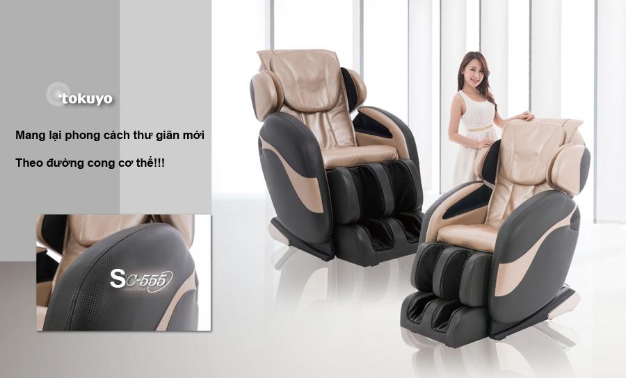 Ghế massage toàn thân Tokuyo SC-555