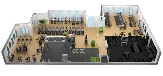 Xác định mô hình phòng Gym